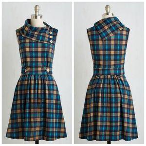 Modcloth Coach Tour A-Line Dress